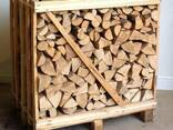 Дрова колотые (дуб, граб, береза, ольха) тех. сушка в ящиках