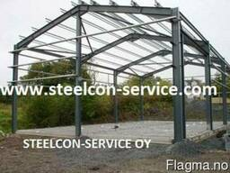 Frame steel halls - photo 1