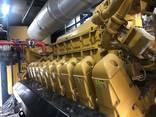 Б/У газовый двигатель Caterpillar 3520, 2014 г. ,2 Мвт - фото 3