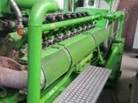 Б/У газовый двигатель Jenbacher J320 GS B05,1000 Квт,1996 г. - фото 7