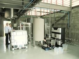 Биодизельный завод CTS, 2-5 т/день (Полуавтомат)