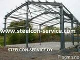 Frame steel halls - photo 1