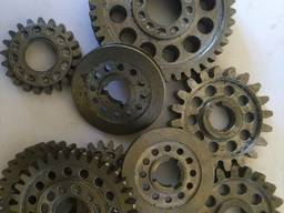 Gearwheel, gear, staft gear, toothed crown, gear box