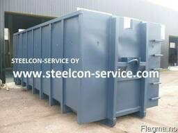 Containers, frame steel halls, building steel construction