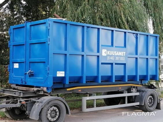 Krokkasser, Containers, Dumpers