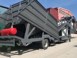 MVS 60M 60m3/hour Mobile Concrete Batching Plant - фото 2