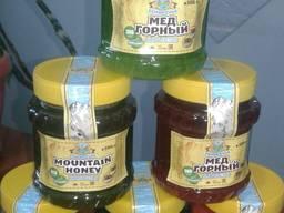 Мёд натуральный высокогорный