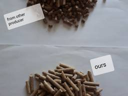 Pine pellets EnPlus A1, 6mm direct from producer. - фото 2