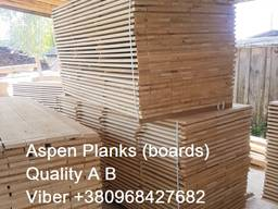 Sell sawn timber, edged planks, blanks Aspen - photo 4
