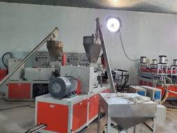 Станок для производства ДСП с лаковым покрытием