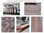 Блок машинс для производства тротуарной плитки R-500 Базовый - фото 8