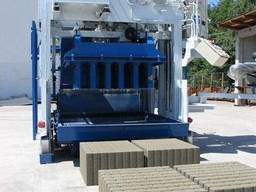 Блок машина Мобильный для производства бордюров, блоков Е6